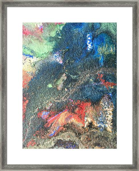 Beginnings - Geology Series Framed Print
