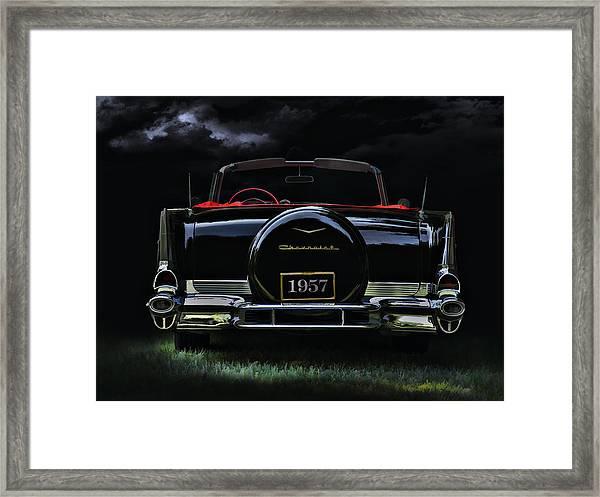 Bel Air Nights Framed Print