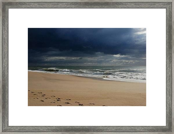Believe - Jersey Shore Framed Print
