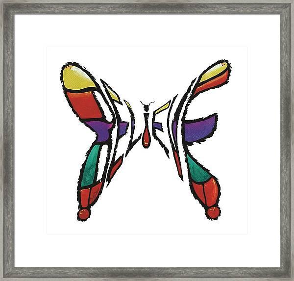 Believe-butterfly Framed Print