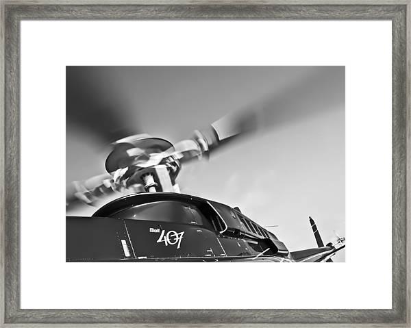 Bell 407 Framed Print