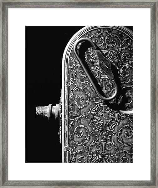 Bell And Howell Camera Framed Print