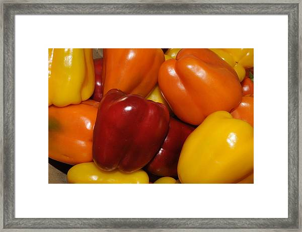 Bell Peppers 2 Framed Print
