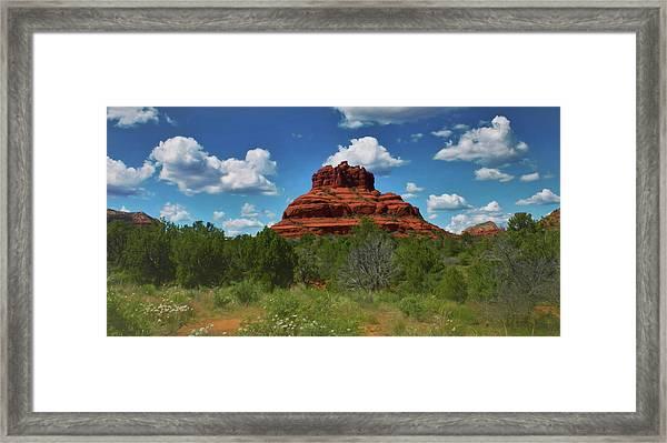 Bell Rock In Sedona Framed Print