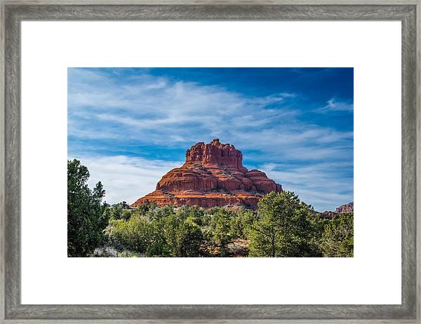 Bell Rock Framed Print