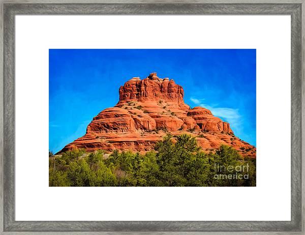 Bell Rock Tower Framed Print