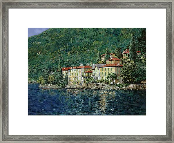 Bellano On Lake Como Framed Print