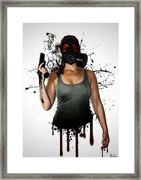 Bellatrix Framed Print