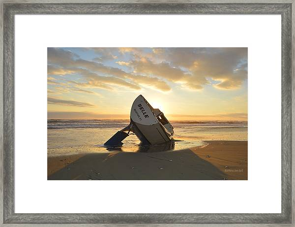 Belle At Sunrise Framed Print