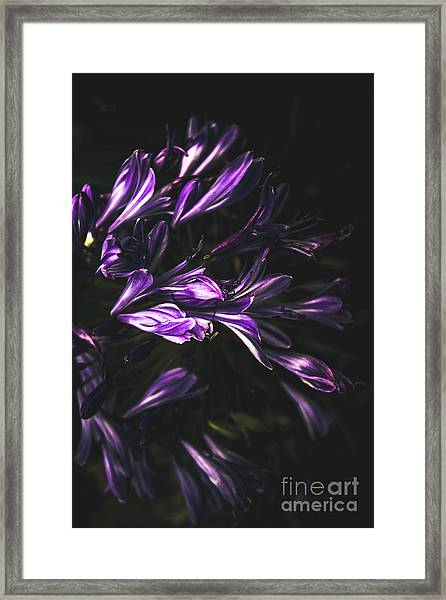 Bells And Flowers Framed Print