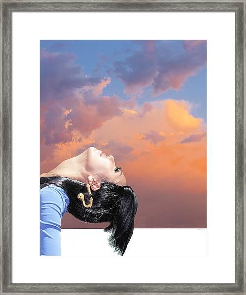 Bend Framed Print