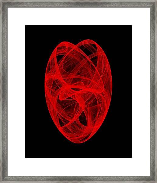 Bends Unraveling II Framed Print