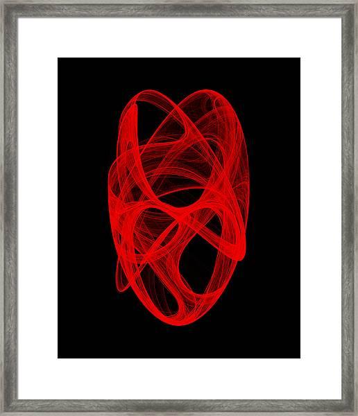 Bends Unraveling Iv Framed Print