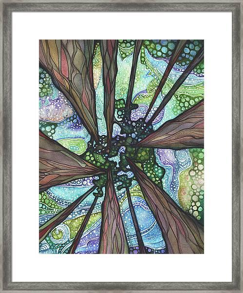 Beneath Magic Framed Print
