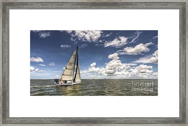 Beneteau First 40.7 Framed Print