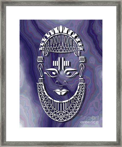 Benin Queen Mother Framed Print