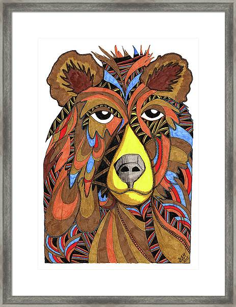 Benjamin Bear Framed Print