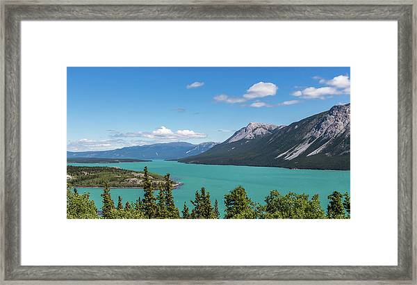 Tagish Lake Framed Print