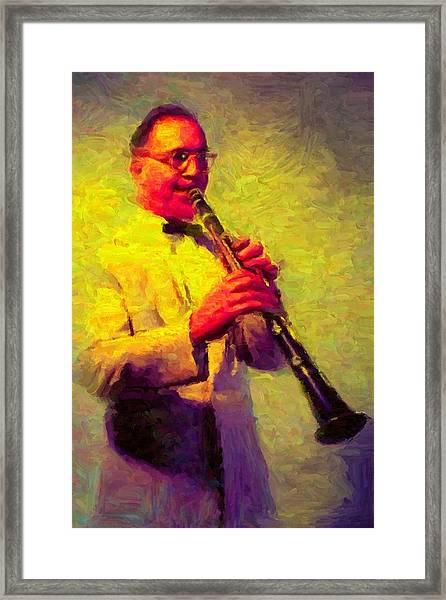 Benny Goodman Framed Print