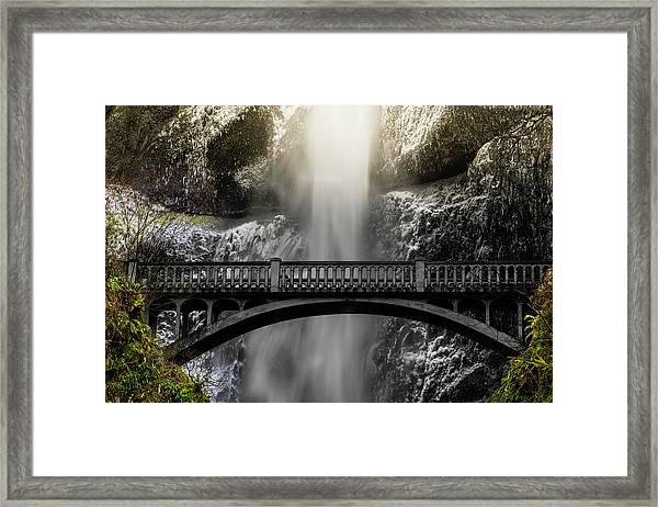 Benson Bridge Framed Print