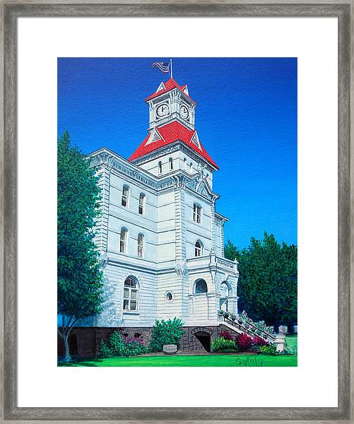 Benton County Courthouse by Robert Gately