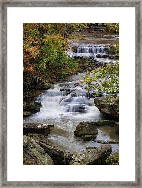 Berea Falls Framed Print