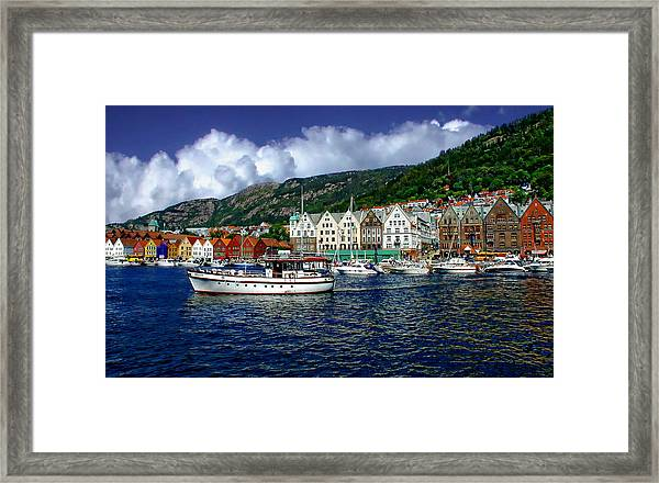 Bergen - Norway Framed Print