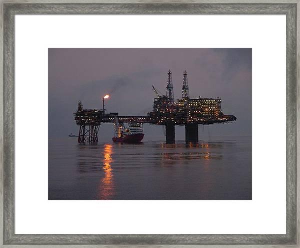 Beryl Alpha Framed Print
