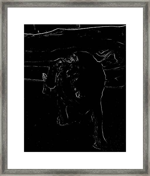 Best Foot Forward Framed Print
