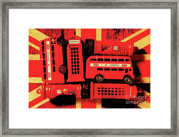 Best Of Britain Framed Print