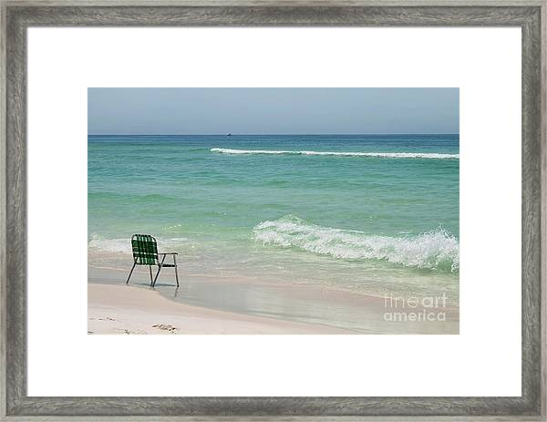 Best Seat  Framed Print