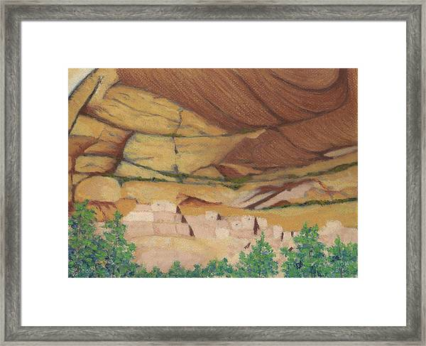 Betatakin Cliffdwellers Framed Print