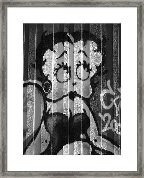 Betty Boop ... Framed Print