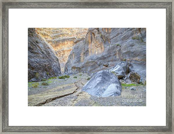 Between These Walls Framed Print