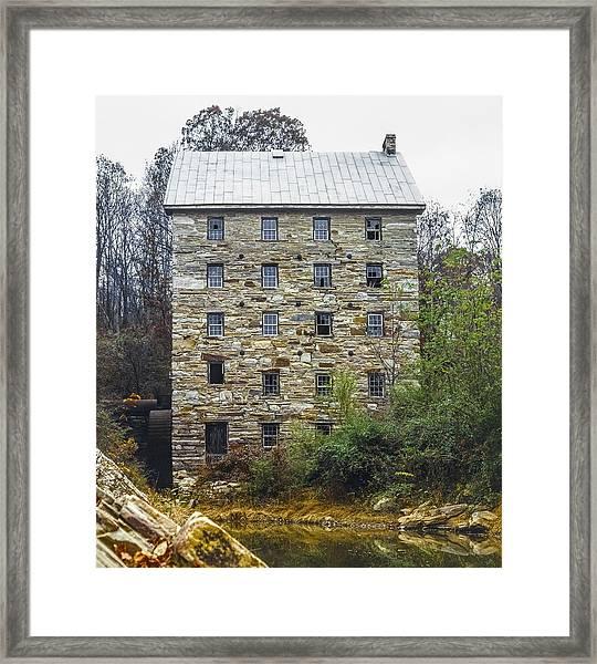 Beverly Mill II Framed Print