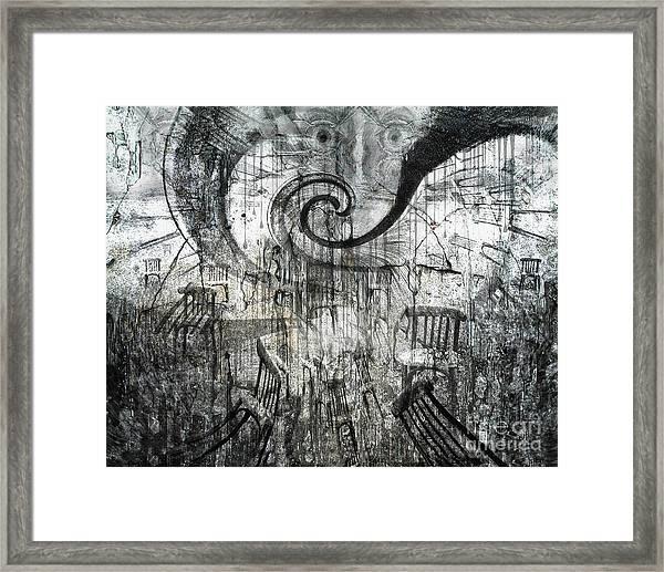 Beware Of Darkness Framed Print