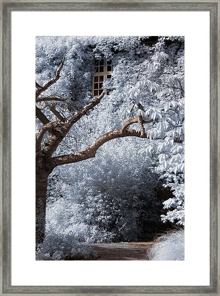 Beyond The Silver Tunnel Framed Print
