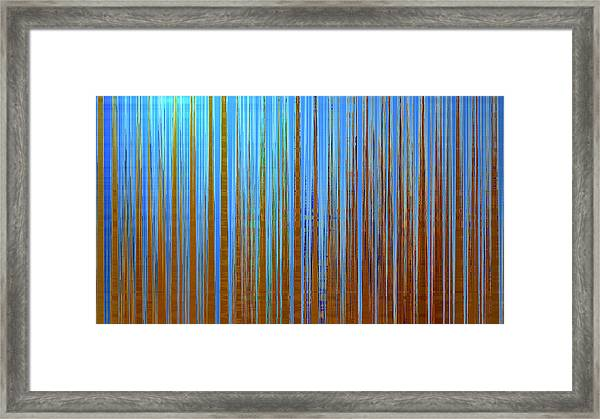 Framed Print featuring the digital art Beyond The Veil  by Gina Harrison