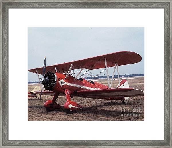 Bi-wing-1 Framed Print