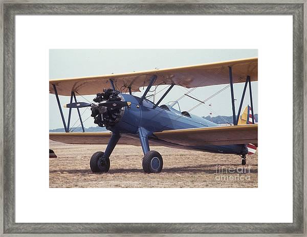 Bi-wing-8 Framed Print