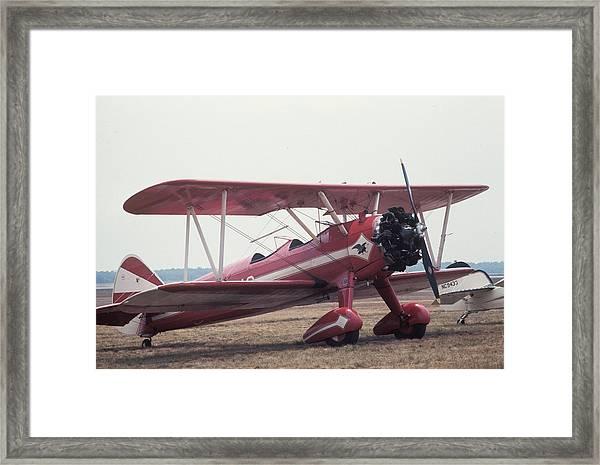 Bi-wing-9 Framed Print
