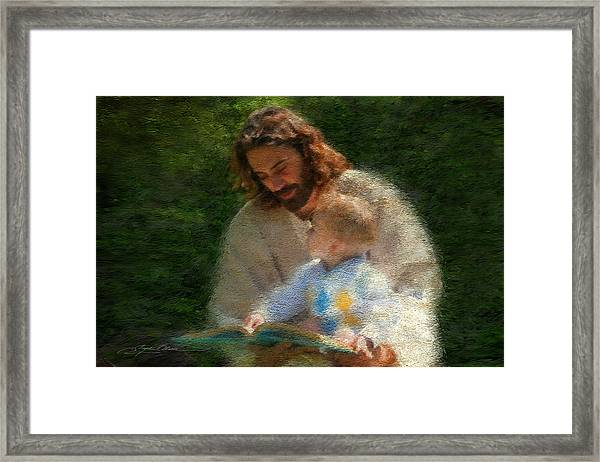 Bible Stories Framed Print