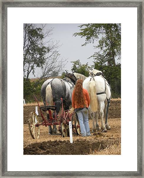 Bickleshire 8 Framed Print