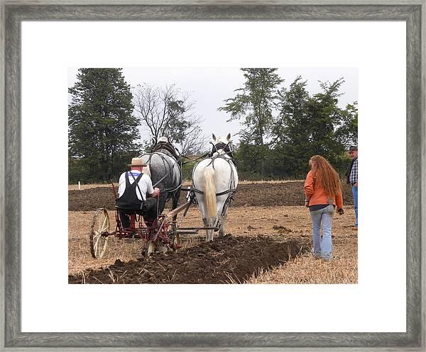 Bickleshire Farm 4 Framed Print