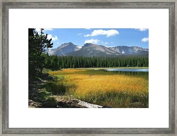 Autumn At Bierstadt Lake Framed Print
