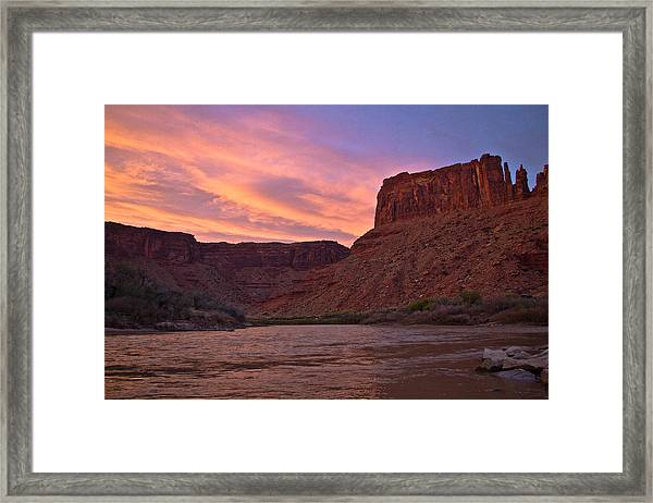 Big Bend, Utah Framed Print