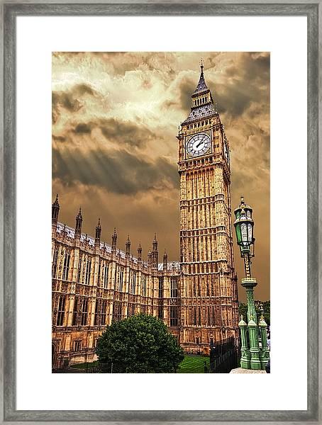 Big Ben's House Framed Print