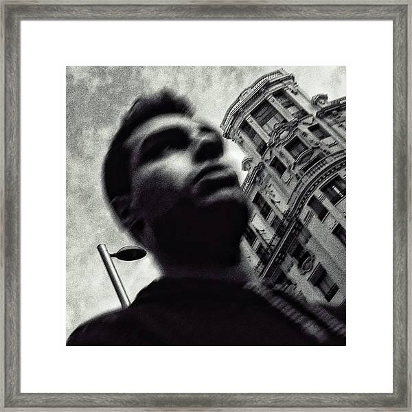 Big Boy #blackandwhite Framed Print