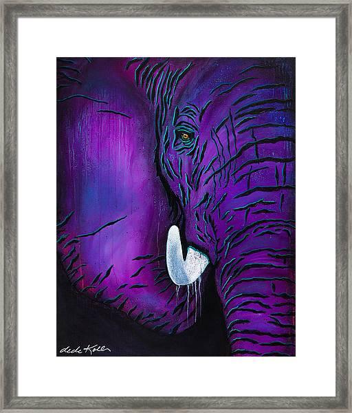Big Bull Framed Print