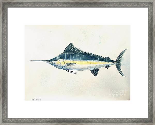 Big Catch Framed Print